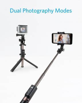 Palo de Selfie y Trípode con mando a distancia