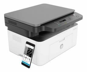 Impresora hp laser mfp135w 220v multifuncional wifi
