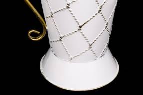 Jarrón decorativo de metal 38x23cm