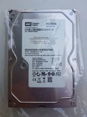 Disco duro Sata de 3.5 pulgadas 250 gb