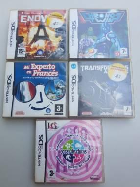 Juegos originales de Nintendo DS