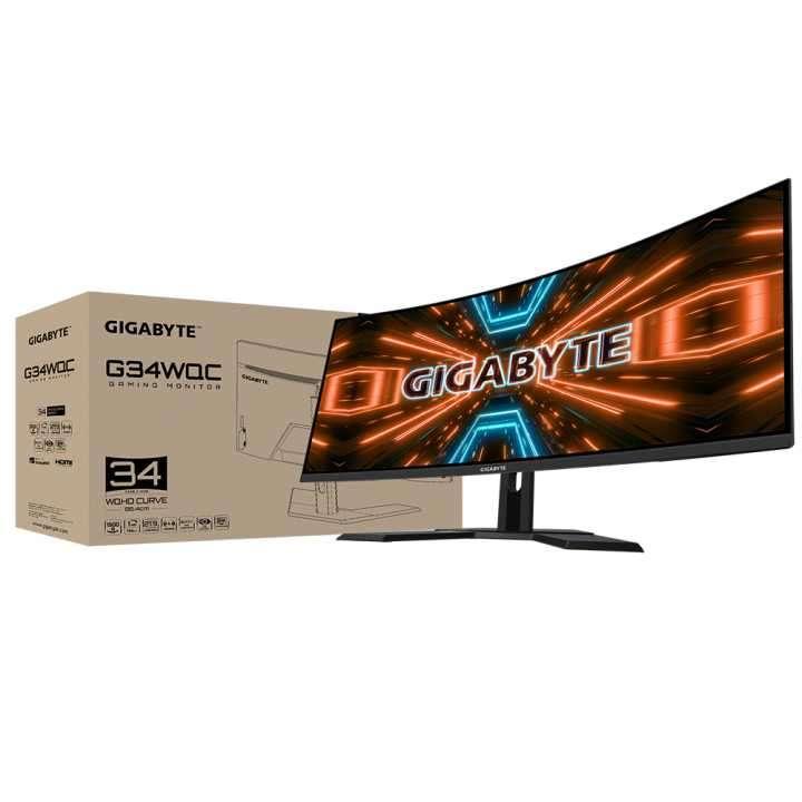 "Monitor gamer Gigabyte G34WQC 34"" WQC 1MS/144HZ - 6"