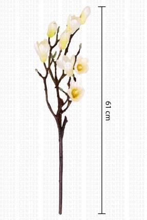 Flor artificial con ramas magnolia 61 cm