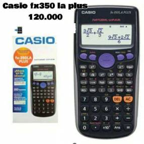 Calculadora Casio fx 350la plus