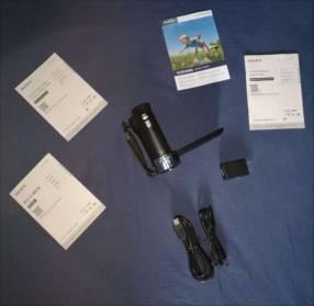 Video cámara Sony filmadora