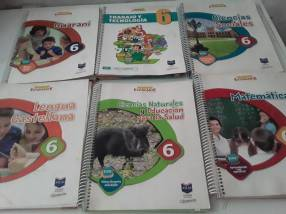 Libros semi nuevos Atlas 6to grado