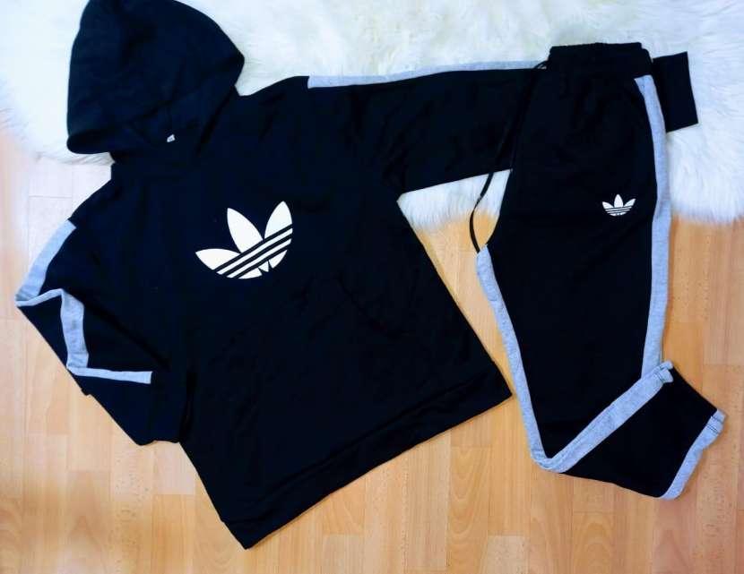 ️Conjuntos Adidas frizado para caballero - 1