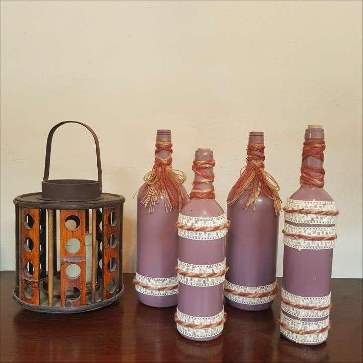Botellas decorativas - 4
