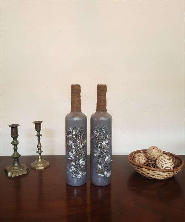 Botellas decorativas - 2
