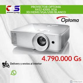 Proyector Optoma X412 4200L
