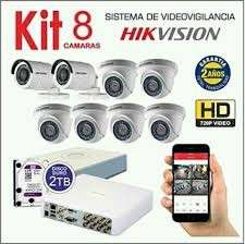Kit de 8 cámaras - 1