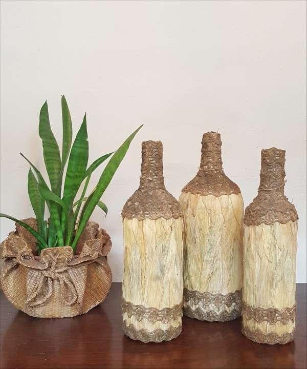 Botellas decorativas - 1