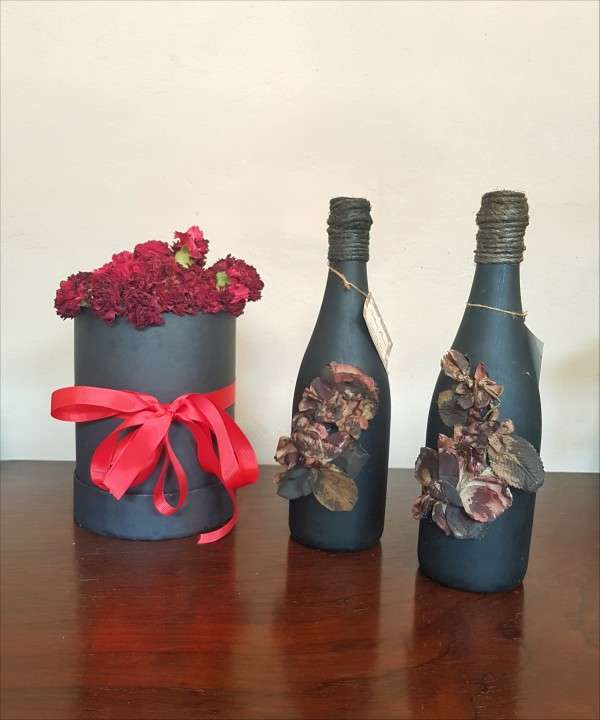 Botellas decorativas - 3