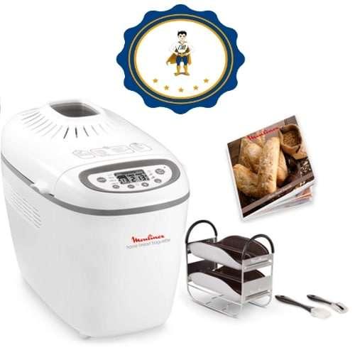 Panificadora Home Baguette Moulinex OW61 - 1