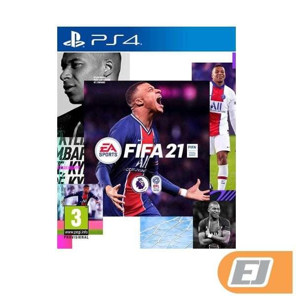 CD de FIFA 2021 para PS4 - 0