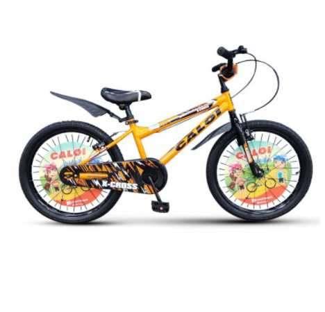 Bicicleta Caloi aro 16 x-cross varón naranja - 0