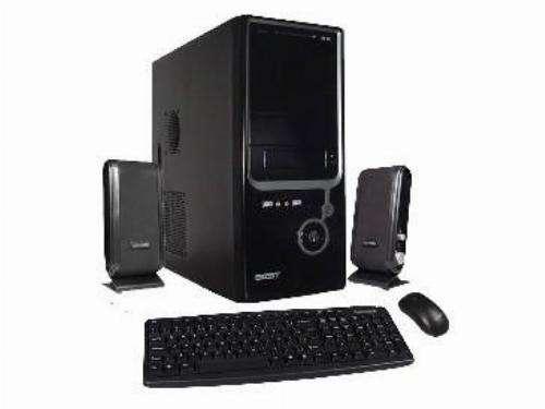 Cpu de escritorio placa disco memoria teclado mouse parlante - 0