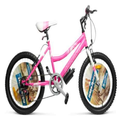 Bicicleta Milano Action aro 24 para dama rosado (3913) - 1