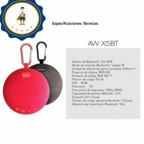 Bocina Bluetooth Aiwa AWX5BT