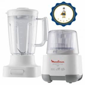 Picadora 1-2-3 + Vaso de Licuadora Moulinex AD6021CL