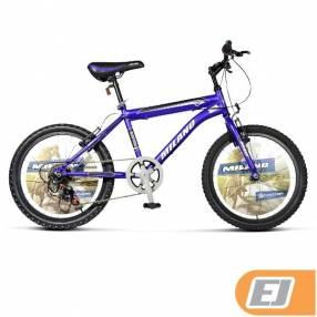 Bicicleta Milano MTB Action Azul Aro 20