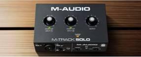 Interfaz M audio M Track Solo
