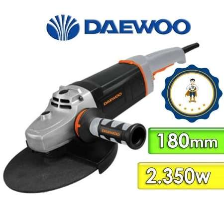 Amoladora Angular Daewoo 2400W 180MM - DAAG180-235N - 0