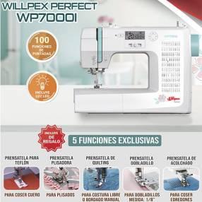 Máquina de Coser Familiar Willpex Perfect WP7000I