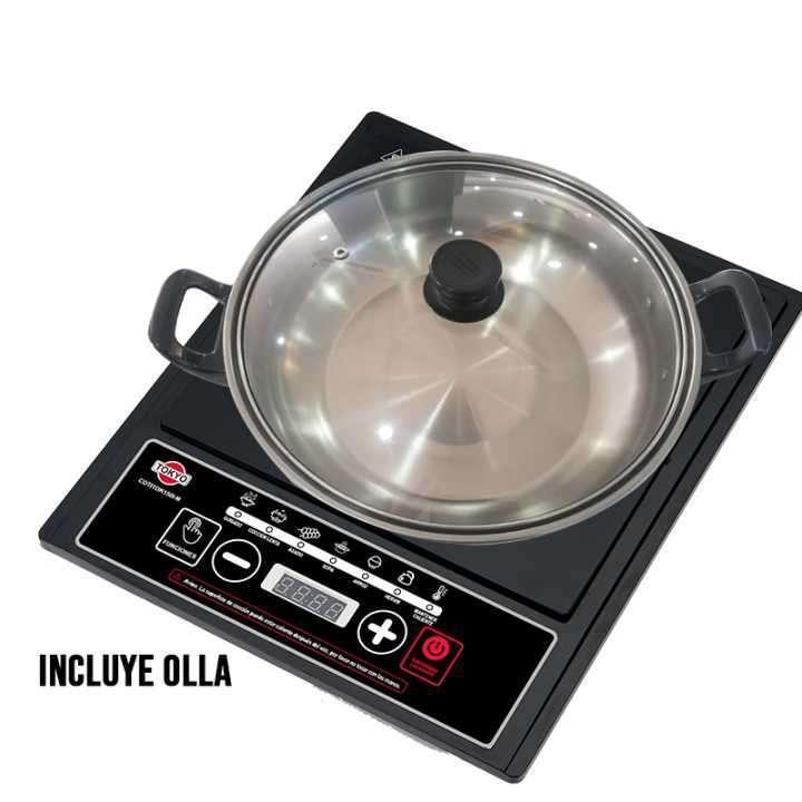 Placa de cocina Tokyo 1H a inducción + olla - 0