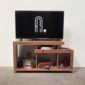 Rack para TV de hasta 43 pulgadas Benicio Altezza