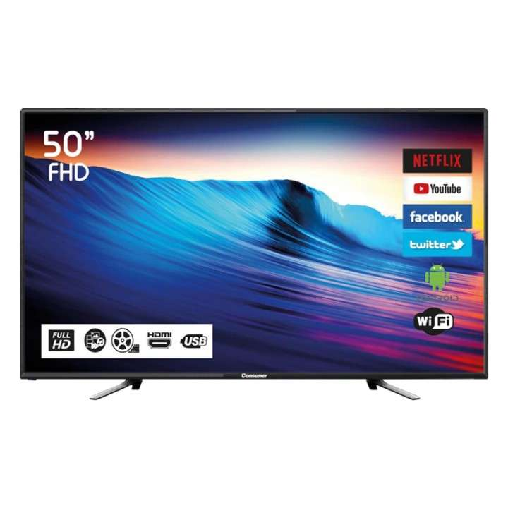 Smart TV Consumer de 50 pulgadas (3404) - 1