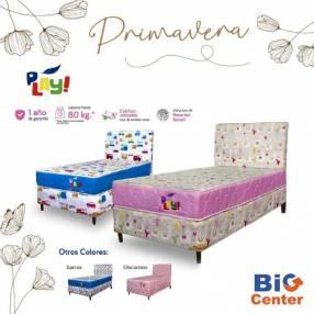 Sommier infantil Paraná Play 100x190