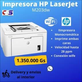 Impresora láser HP Laserjet Pro