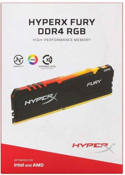 Memoria Kingston HyperX Fury ddr4 16gb 3200 rgb - 1