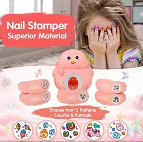 Kit de estampas para uñas infantil