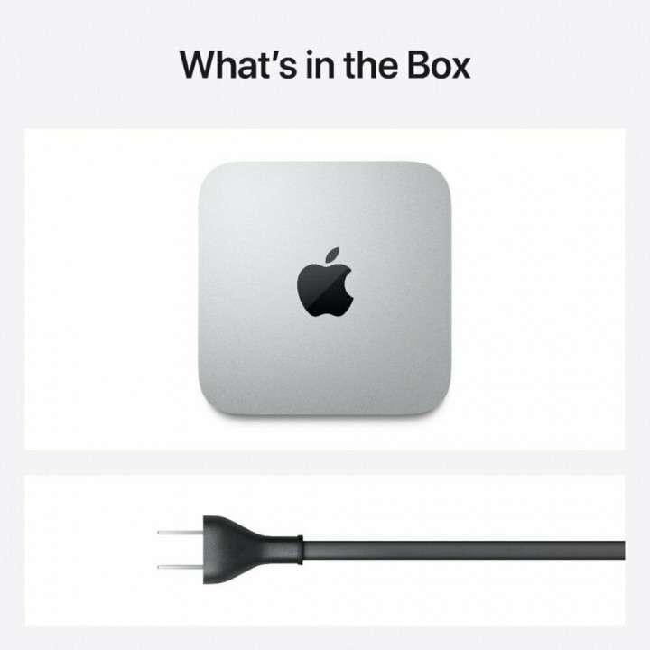 Apple Mac Mini 256gb SSD M1 8gb silver MGNR3LL/A - 3