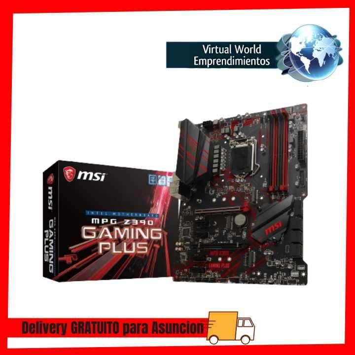 Placa madre Intel MSI1151 Z390 MPG gaming plus HDMI/DVI/M.2 - 0