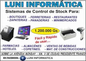 Sistema de control de stock