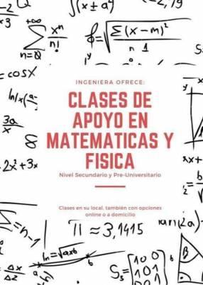 Cursos de apoyo de Matemáticas y Física