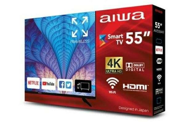Smart TV Aiwa 55 pulgadas 4K UHD - 1