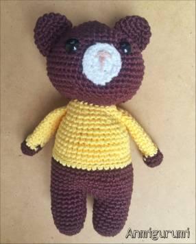 Muñeco de apego oso