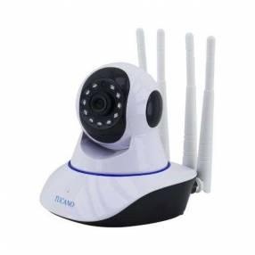 Cámara IP Tucano TC-YT-B88 wifi HD 4 antenas blanco