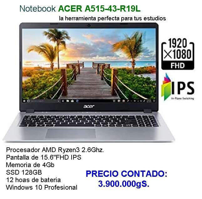 Notebook Acer A515-43-R19L - 0