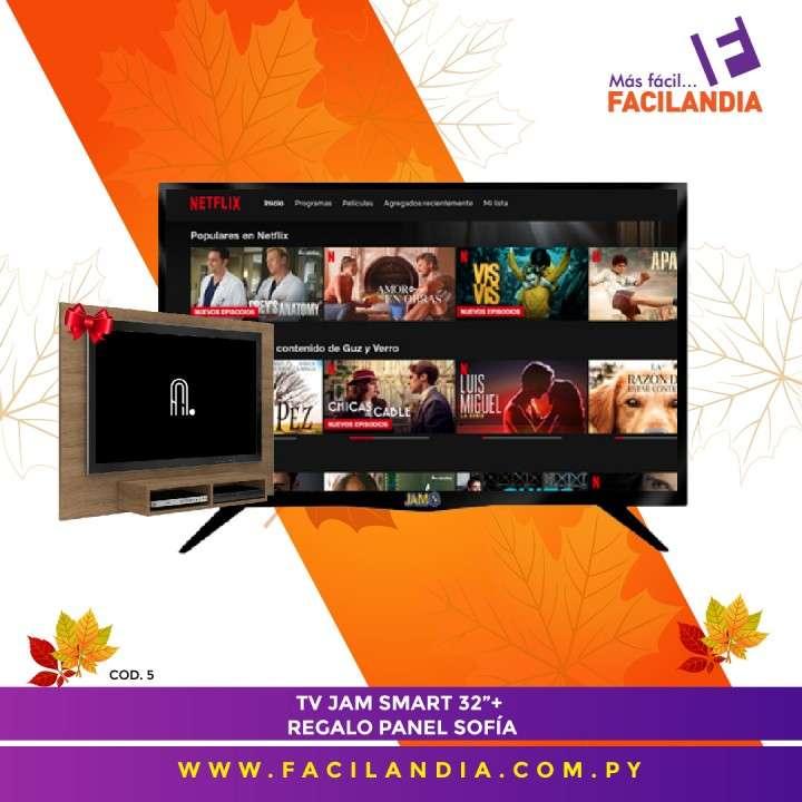 Smart tv HD Jam 32 pulgadas y panel Sofía - 0