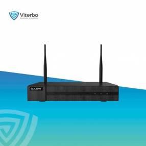 NVR WIFI 4 megapíxeles 4 canales IP 2 antenas integrada