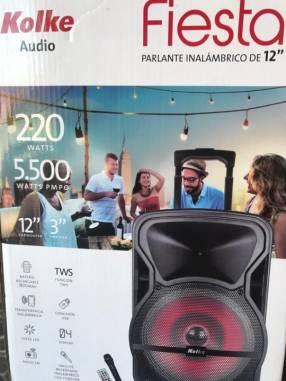 Parlante Inalámbrico de 12 pulgadas Kolke Audio Fiesta