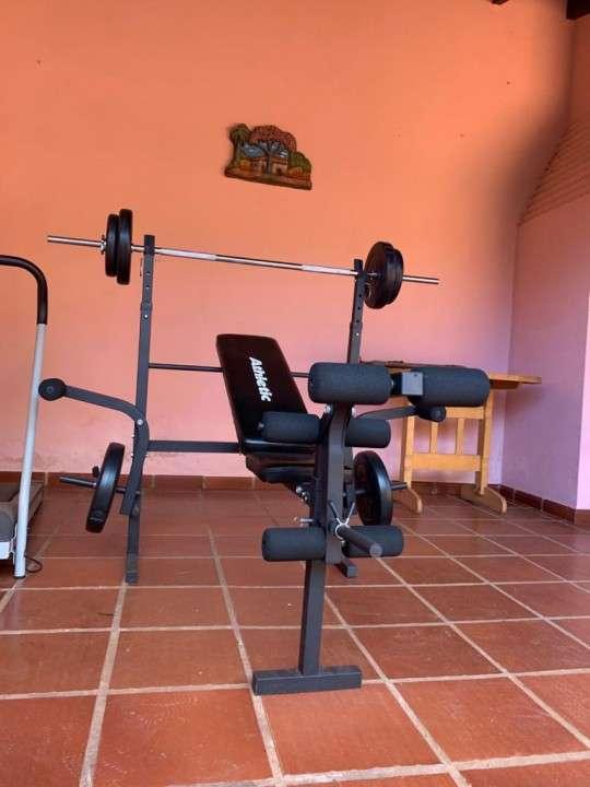 Banco de pesas Athletic FT 8500 - 2