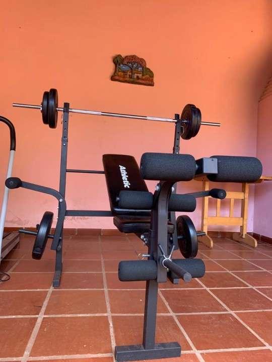 Banco de pesas Athletic FT 8500 - 1