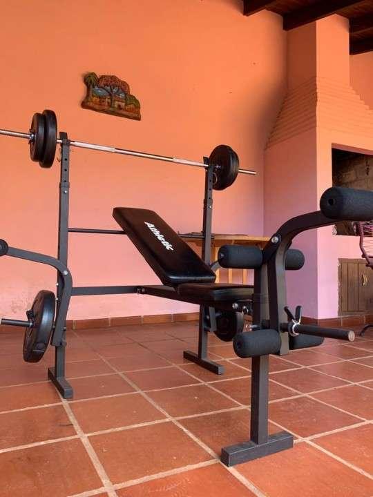 Banco de pesas Athletic FT 8500 - 0