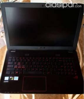 Notebook Asus ROG 15.6 IPS i7 16gb ram GTX 960M 750gb ssd